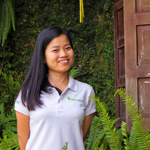Green Edu nguyet training manager